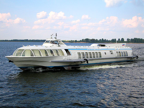 High-Speed Hydrofoil Boat