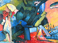 Arts & Museums, Kandinsky, Improvizatsiya N4 (Improvisation N4)